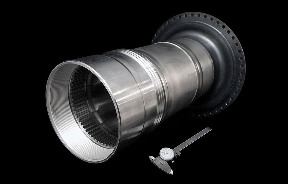 HPT Rotor Pressure Tube Coupling Nut