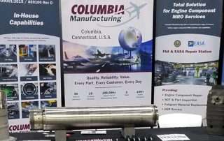 Aviation Week MRO Americas Columbia Manufacturing Inc. booth