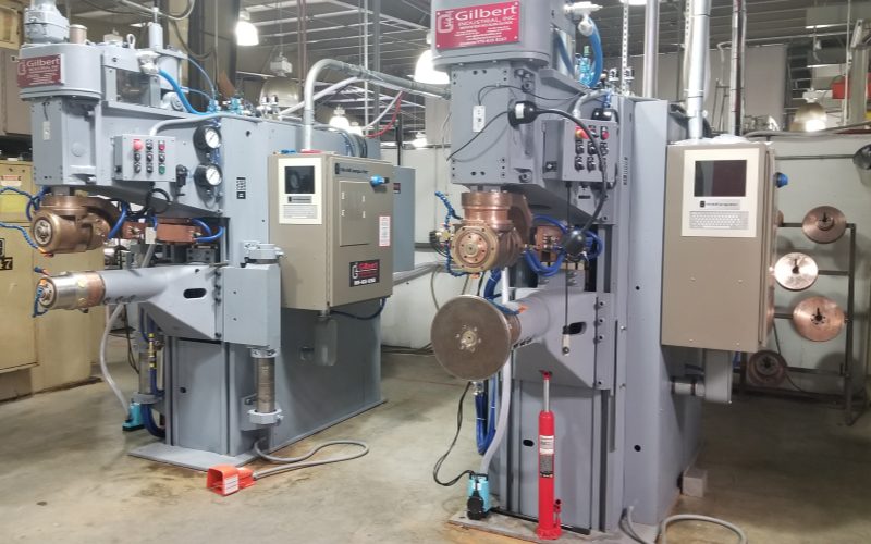 Columbia Manufacturing Seam Welder