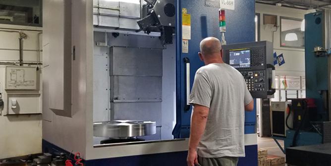 CNC Vertical Turret Lathe
