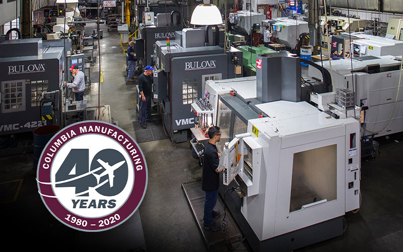 Celebrating 40 Years of Service to the Aerospace Industry
